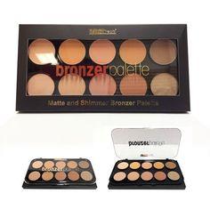 (3 Pack) BEAUTY TREATS Matte and Shimmer Bronzing Palette >>> For more information, visit image link.