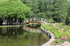 Karhulan Jokipuisto - puisto silta