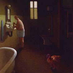 Dinde. Neuf types de viande - (Michael Sowa) Michael Sowa, Hero Symbol, Illustrations, Illustration Art, Wilhelm Busch, The Beautiful South, Rene Magritte, Surreal Art, Figure Painting