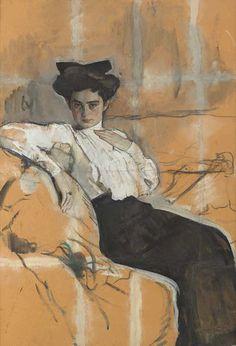 Gurney Journey: Serov's Gouache Portraits