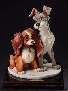 Giuseppe Armani Disney figurine 1829C Lady and Tramp