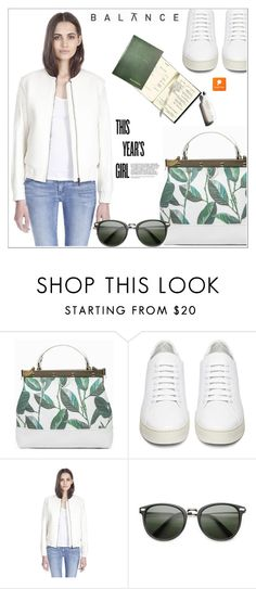 """""""Bomber Jacket with Popmap 88"""" by deeyanago ❤ liked on Polyvore featuring Off-White, Garance Doré, women's clothing, women, female, woman, misses, juniors and popmap"""