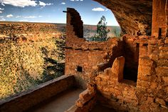 Mesa Verde - Inside Balcony House  Gave MANY tours there, 1971-1974