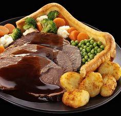 A sunday roast, love it!!!