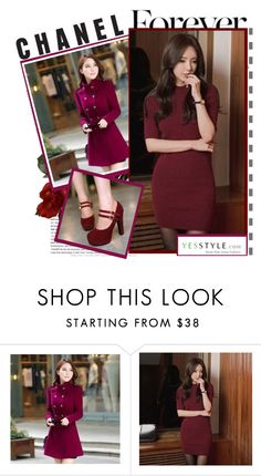 """""""YesStyle - 10% off coupon"""" by irma-bojic ❤ liked on Polyvore featuring Persephone, O.Jane, Sidewalk, women's clothing, women's fashion, women, female, woman, misses and juniors"""