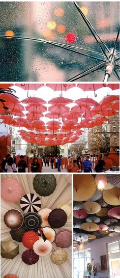 Fun, would be a great art installation for a really high ceiling (Decor)