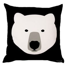 polar bear cushion
