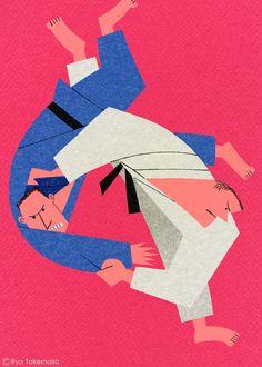 武政 諒 Ryo Takemasa | illustration | Judo