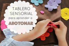 Tablero sensorial: aprendo a subir y bajar cierres - Blog de BabyCenter
