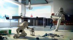 Stormtrooper Father and Son v.2.0, Joel Erkkinen on ArtStation at https://www.artstation.com/artwork/stormtrooper-father-and-son-v-2-0