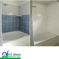 DIY: How To Paint Shower Tile   This Is An Excellent Tutorial That Shows  Every Step Involved In Updating Tile With Paint. This Budget Friendly  Project Is A ... Part 67