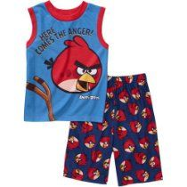 """Angry Birds """"Here Comes the Anger"""" Boys Pajama Set Boys Sleepwear, Cotton Sleepwear, Boys Pajamas, Pajama Set, Pajama Pants, Big Boys, Toddler Boys, Size 14, Infant"""