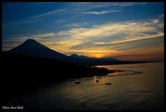 Sunset at Mt. Agung, Amed, Bali