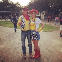 Diy, Jessie and Woody costumes, Homecoming week