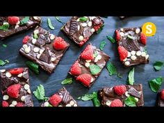 Mint Chocolate Brownie Recipe - YouTube