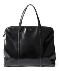 Prada Black Spazzolato Shoulder Bag koop veilig en snel online tweedehands designer handtassen
