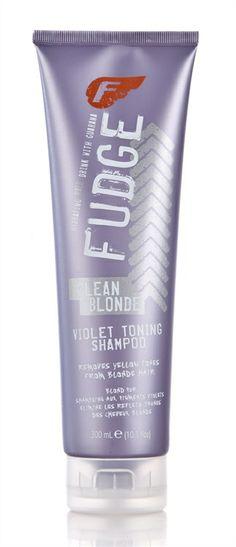 Fudge Clean Blonde Violet Toning Shampoo 300ml. BEST!