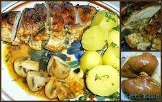 Kuchnia Betti: Pierś kurczaka nadziewana pieczarkami i mozzarellą
