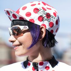 #Pretty, punchy, perfect. My kind of #cycling cap. #morvelo #chasseurdecols
