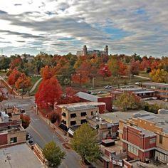 Ole Main - University of Arkansas Fayetteville