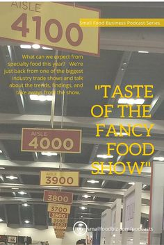 Findings, trends, and takeaways from the Winter 2016 Fancy Food Show.