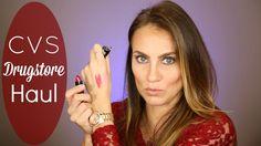 VIDEO: CVS Drugstore Beauty Product Haul!  Mascara, gel shadow, lipsticks & more!  #hellogorgeous #haul