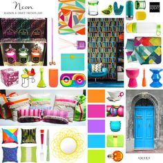 tuesday trending...maison et objet 2015 | #neon | @meccinteriors | design bites | #designtrends #2015trends