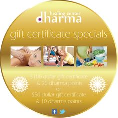 The perfect Gift certificate for the holidays.