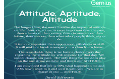 What's your attitude to life at the moment? Do you need to change? Gernius Programmes offer you the solution. Web Development Agency, Other People, Digital Marketing, Attitude, How To Find Out, Success, Change, In This Moment, Education