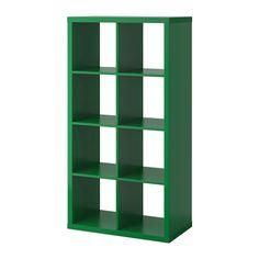 KALLAX Regal - grün - IKEA