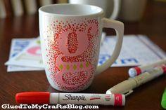 DIY Painted Mugs - That Won't Wash Away {Craft}