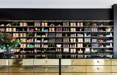 A European-style dessert bar opens in Melbourne: Beautifully crafted and packaged desserts, sweets, ice-creams and sorbets sit alongside a large selection of coffee table books chosen for the dessert obsessed. Melbourne, European Fashion, European Style, Interior Inspiration, Design Inspiration, Shop Shelving, Vogue Living, Living Magazine, Vogue Australia