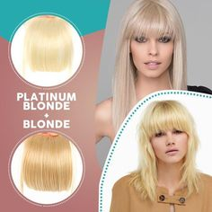 Clip-In Bangs Hair Extensions – Hourly Holiday Deals Box Braids Hairstyles, Hairstyles For Round Faces, Winter Hairstyles, Hairstyles With Bangs, Beach Hairstyles, Hairstyle Men, Modern Hairstyles, One Piece Hair Extensions, Growing Out Bangs