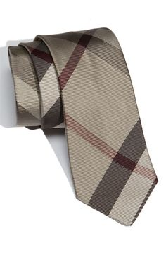 ALL men need to have at least one Burberry Tie in their arsenal!
