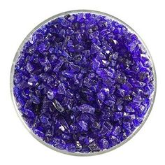 Gold Purple Transparent Coarse Frit - 4oz - 90COE - Made From Bullseye Glass