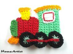 Lokomotive  Einfach nach Kauf mir die Wunschfarben (Nummern mitteilen)  Zum aufnähen und Verzieren auf Kleidungen, Taschen, Tunikas, Kinder/Babykleidung, Schuhen, Kopfkissen , Gardinen,...