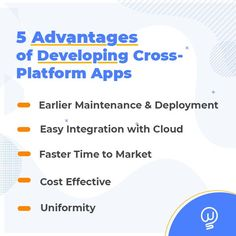 Among the top trends in #MobileDevelopment this year, cross-platform apps are changing the way businesses develop apps. Furthermore, it creates new opportunities for digital growth. The developer can write a piece of code once and deploy it to Android, iOS, or Windows. Here are some of the advantages of developing Cross-Platform apps. Reach our experts. #CrossPlatformAppDevelopment #HybirdAppDevelopment #AppDeveloper #W2SSolutions App Development Companies, Application Development, Fast Times, New Opportunities, Chennai, Mobile App, Apps, Platform, Coding