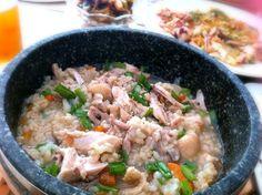 18日は韓国では土用の丑の日だったので参鶏湯風のお粥をいただきました。 - 11件のもぐもぐ - 鶏肉の薬膳お粥 by beatymouse