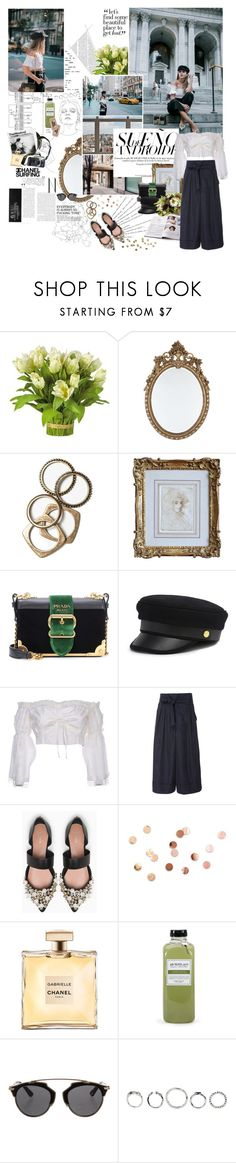 """""""make it on your own; but we don't have to grow up; we can stay forever young; living on my sofa drinking rum and cola; underneath the rising sun."""" by youarebeautifulmydarling on Polyvore featuring Nearly Natural, Prada, Lenox, Rachel Leigh, Henri Bendel, Wandering, ADAM, Max&Co., Umbra and Eos"""