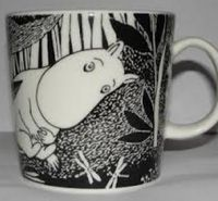 Moomintroll Daydreams 2005 (Only 2005 exists) Moomin Mugs, Tove Jansson, Mug Designs, Troll, Tableware, Den, Future, Interior, Blogging