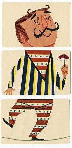 MELI-MELO - sabine llorens - Picasa Web Albums Wooden Blocks Toys, Wooden Toys, Flipped Movie, Vintage Playmates, Exquisite Corpse, Meli Melo, Circus Theme, Paper Toys, Toy Boxes