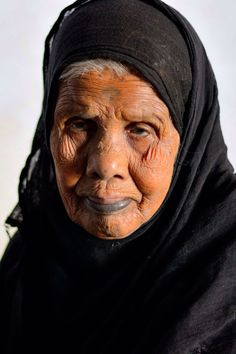 2nd oldest woman in Heisa island, aswan
