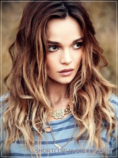 Getting the Best Hair Color for Curly Hair
