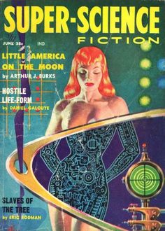 """Dedicated to all things """"geek retro:"""" the science fiction/fantasy/horror fandom of the past including pin up art, novel covers, pulp magazines, and comics. Science Fiction Kunst, Science Fiction Magazines, Pulp Fiction Book, Pulp Novel, Pulp Fiction Comics, Fiction Novels, Books Art, Sci Fi Books, Comic Books"""