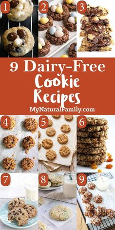 These are the best dairy-free cookie recipes you'll find with no butter or milk chocolate in them. It can be a real challenge to find dairy-free desserts. Classic Peanut Butter Cookies, Chocolate Peanut Butter Cookies, Dairy Free Chocolate, Chocolate Chip Oatmeal, Chocolate Chips, Cookie Butter, Cheesecake Sans Lactose, Dairy Free Cheesecake, Dairy Free Cookies