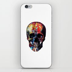 Buy skull iPhone & iPod Skin by Asya Solo. Worldwide shipping available at Society6.com. Just one of millions of high quality products available.