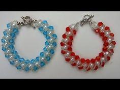 Easy bracelet making for beginners .How to make an elegant bracelet in less than 1hour - YouTube