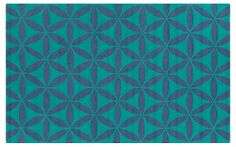 Brentwood Rug, Blue/Green | Chill Out | One Kings Lane