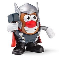 Thor Mr. Potato Head - I neeeeed this for my secret Mr. Potato Head collection!!! Which is no longer secret...