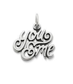 """You & Me"" Charm | James Avery - next charm for my bracelet"